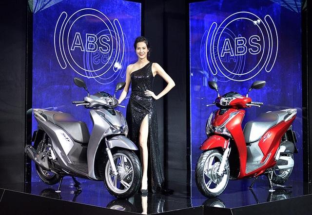 Honda SH được trang bị thêm phanh ABS - 1