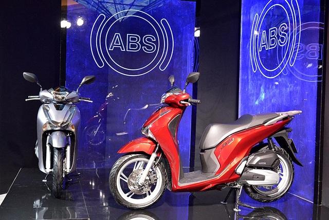 Honda SH được trang bị thêm phanh ABS - 9