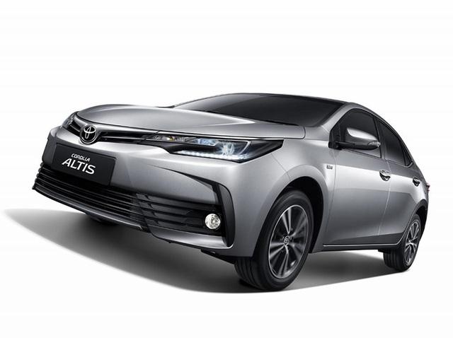 Toyota ra mắt phiên bản nâng cấp mới cho Altis - 2