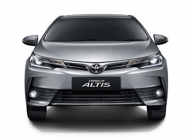 Toyota ra mắt phiên bản nâng cấp mới cho Altis - 13