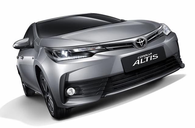 Toyota ra mắt phiên bản nâng cấp mới cho Altis - 1
