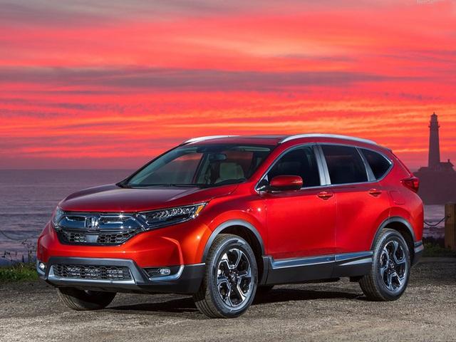 Honda công bố giá bán CR-V 2017 tại Mỹ - 1