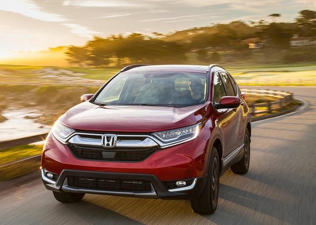 Honda công bố giá bán CR-V 2017 tại Mỹ - 11