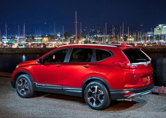Honda công bố giá bán CR-V 2017 tại Mỹ - 4