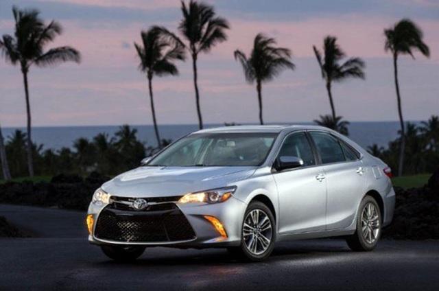 Toyota Camry phiên bản hiện tại ở Mỹ