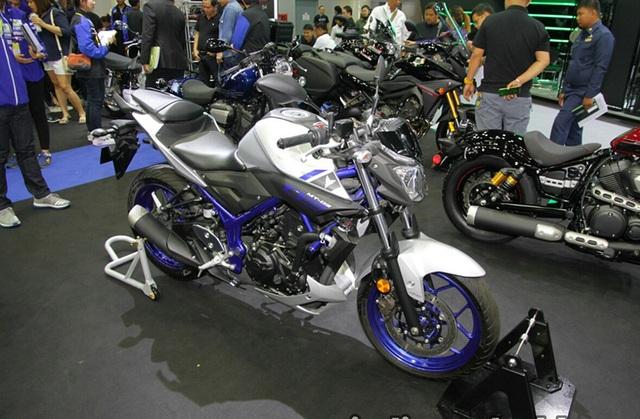 """Yamaha ra mắt liền hai mẫu xe mới trong """"gia đình MT"""" - 1"""