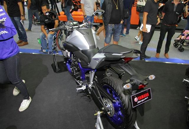 """Yamaha ra mắt liền hai mẫu xe mới trong """"gia đình MT"""" - 2"""