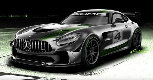 Phác thảo Mercedes-AMG GT4