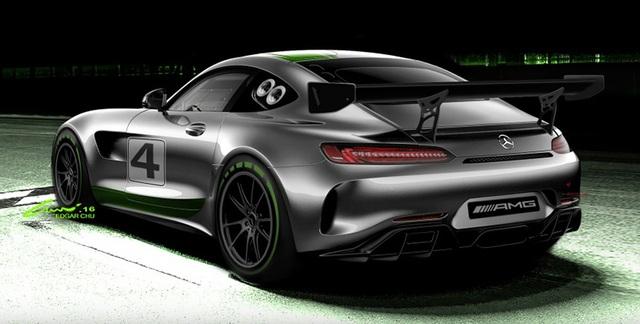Mercedes-AMG tiết lộ kế hoạch mới cho mẫu GT4 - 2