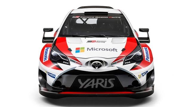 Sau 18 năm, Toyota quay lại World Rally Championship - 2