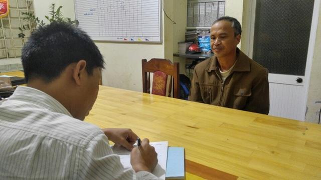 Đối tượng Kiều Quang Khoa tại cơ quan điều tra