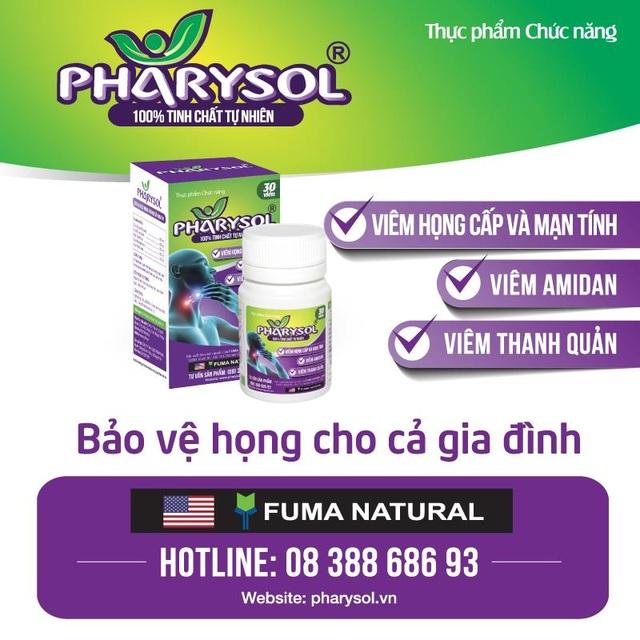 TPCN Pharysol – Bảo vệ họng cho cả gia đình - 3
