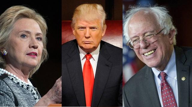 Ông Sanders (phải) từng ủng hộ mạnh mẽ bà Clinton trong cuộc đua với ông Trump (Ảnh: TheTVPage)