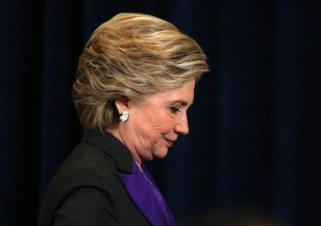 Bà Hillary Clinton đã thất bại trong cuộc bầu cử hôm 8/11 (Ảnh: Reuters)