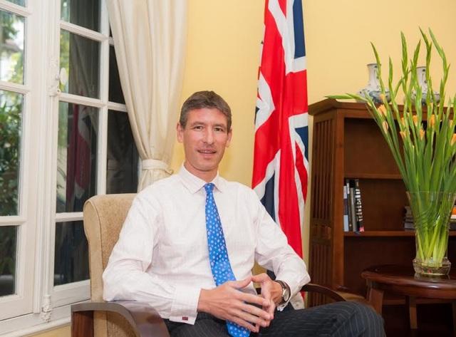 Đại sứ Anh tại Việt Nam, ông Giles Lever (Ảnh: Đại sứ quán Anh tại Việt Nam)