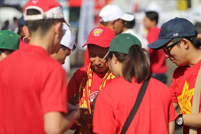 Tất cả đều có niềm tin về chiến thắng của đội tuyển Việt Nam trước Malaysia