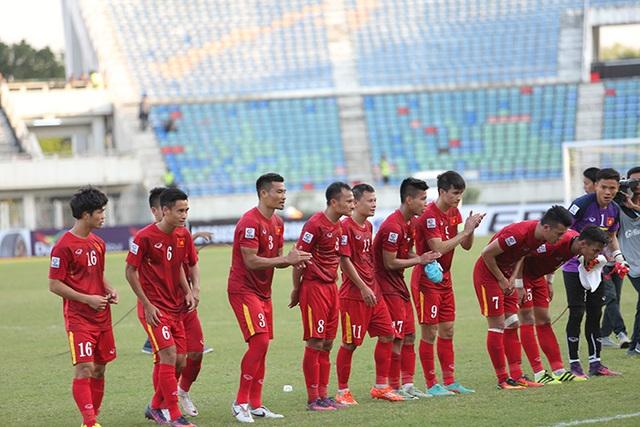 Hình ảnh đẹp của các tuyển thủ Việt Nam