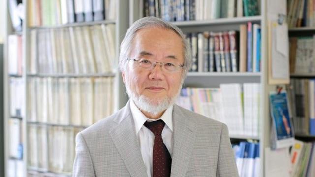 Nhà khoa học Nhật Bản Yoshinori Ohsumi (Ảnh: Reuters)