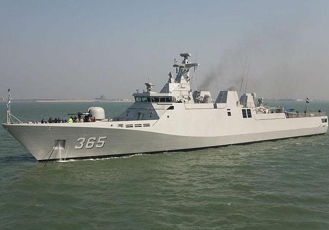 Tàu chiến của Hải quân Indonesia. (Ảnh: IHS Janes)