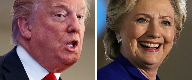 Ông Trump và bà Clinton sẽ đối đầu trong cuộc bầu cử tổng thống Mỹ ngày 8/11 (Ảnh: ABC News)