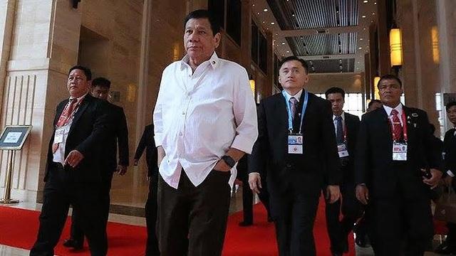 Tổng thống Duterte. (Ảnh: PEP)
