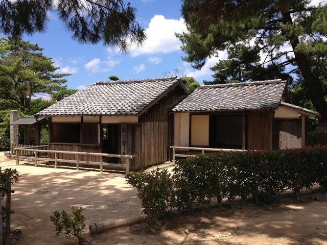 Ngôi nhà nơi võ sĩ Shoin Yoshida từng dạy học (Ảnh: An Bình)