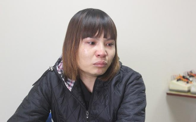 Chị Trần Thị Hoa - người rao bán tim để lấy tiền chữa bệnh cho con (nguồn: IT).