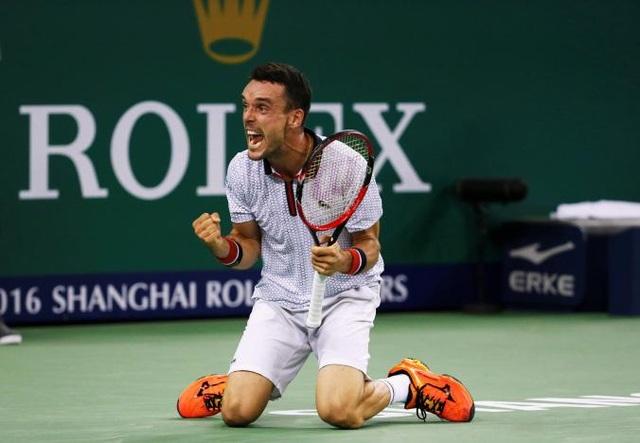 Niềm vui chiến thắng của Bautista-Agut