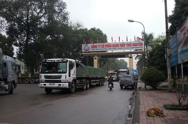 Gang thép Thái Nguyên - cái nôi của ngành thép Việt Nam. Ảnh: L.Bằng