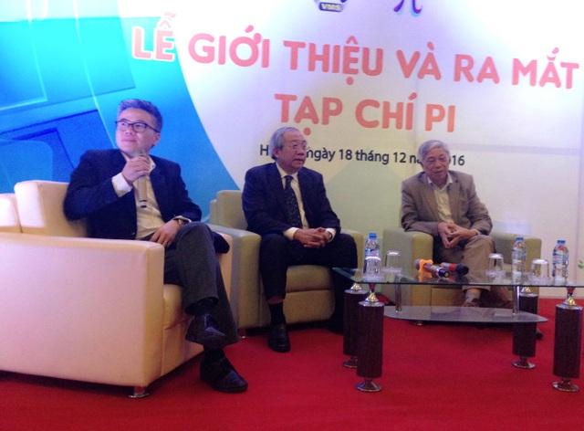 GS Ngô Bảo Châu chia sẻ kinh nghiệm đọc, khai thác bài báo Toán học tại lễ ra mắt Tạp chí PI.