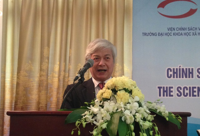 PGS.TS Chu Hồng Thanh cho rằng, đại học tư thục đang bị lép vế và đối mặt với những thách thức sống còn.