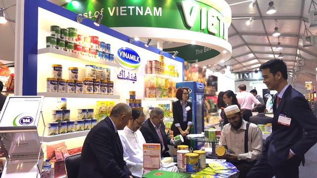 Sản phẩm của Vinamilk đã và đang xuất khẩu đi 43 nước, mang thương hiệu quốc gia của Việt Nam đến nhiều quốc gia trên thế giới