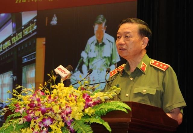 Bộ trưởng Tô Lâm