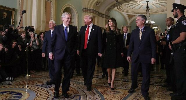 Chuyến thăm diễn ra 2 ngày sau khi ông Trump, một thành viên đảng Cộng hòa, đắc cử trong cuộc bầu cử tổng thống ngày 8/11.