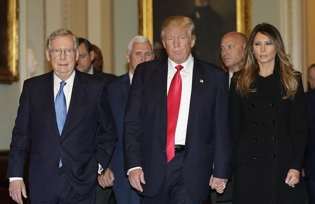 Chuyến thăm nhằm chuẩn bị cho việc ông Donald Trump sẽ nhậm chức tổng thống vào ngày 20/1 năm sau.