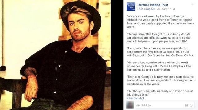 Ca sĩ George Michael và cả cuộc đời âm thầm làm từ thiện - 7