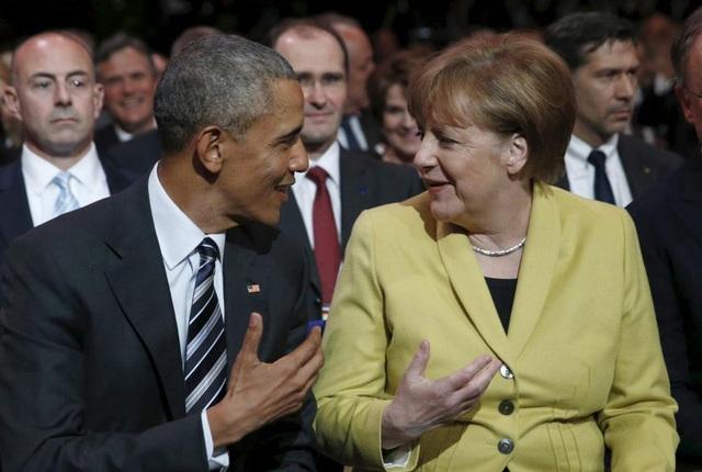 Ông Obama và bà Merkel có nhiều quan điểm trùng nhau trong các vấn đề lớn của thế giới. (Ảnh: Reuters)