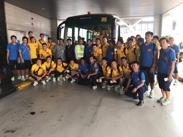 Đội tuyển Việt Nam khá mệt mỏi trước trận đấu với Indonesia