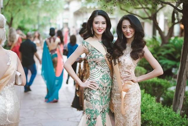 Hoa hậu Ma Cao và Trung Quốc