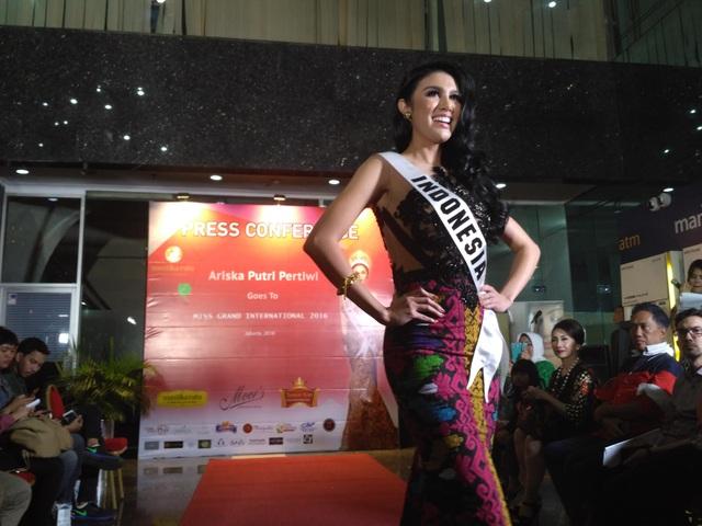 Trước khi cuộc thi Hoa hậu hòa bình thế giới 2016 diễn ra, truyền thông trong nước đã đặt nhiều kỳ vọng vào cô.