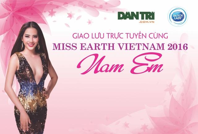 Nam Em ủng hộ chiến thắng của tân Hoa hậu Trái đất - 2