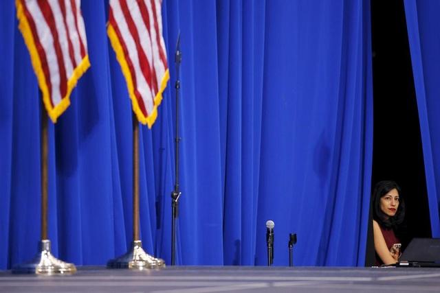 Abedin từng được báo chí Mỹ gọi với biệt danh như vũ khí bí mật của Hillary Clinton.