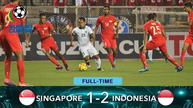 Ngược dòng hạ Singapore, Indonesia giành vé vào bán kết - 2