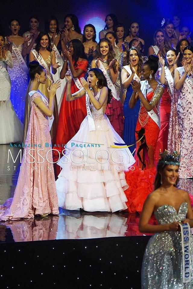 Phút công bố kết quả đầy bất ngờ của cuộc thi Hoa hậu Thế giới 2016 khi người đẹp Puerto Rico giành vương miện cao nhất.