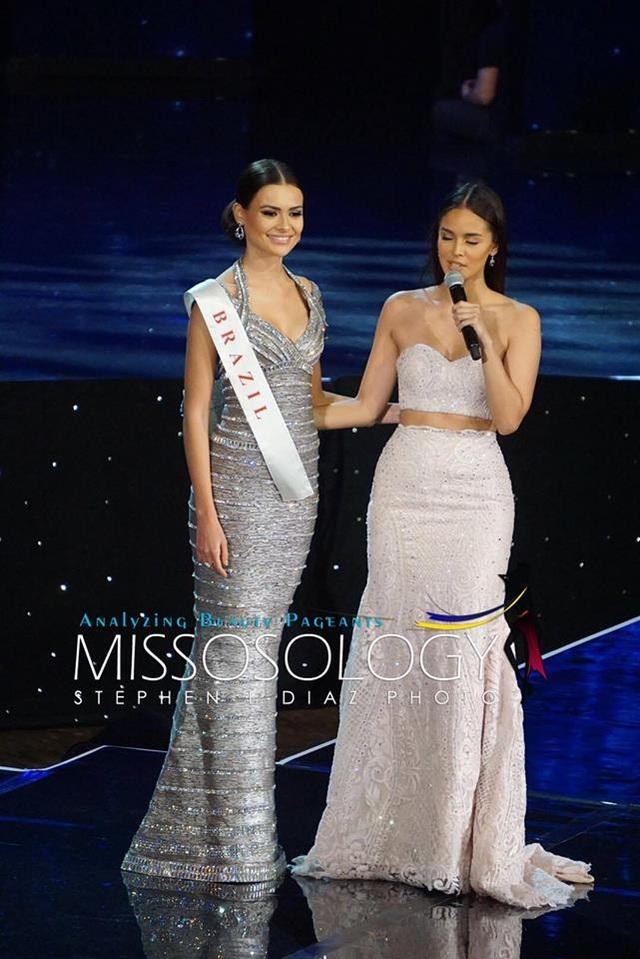 Hoa hậu Brazil dừng chân ở top 11 cuộc thi năm nay.