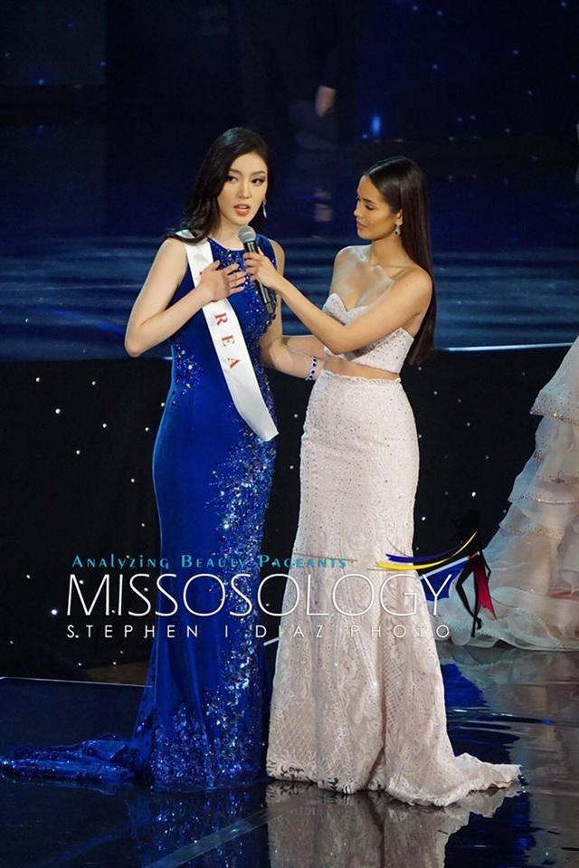 Hoa hậu Hàn Quốc dừng chân ở top 11 cuộc thi năm nay.