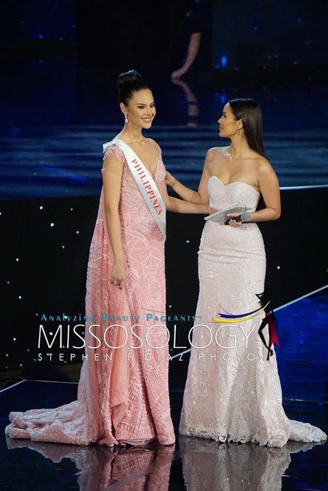 Hoa hậu Philippines dừng chân ở top 5 cuộc thi năm nay.