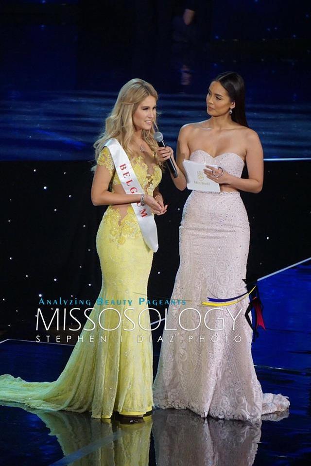 Hoa hậu Bỉ dừng chân ở top 11 cuộc thi năm nay.