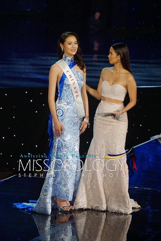 Hoa hậu Trung Quốc - Top 20 cuộc thi Hoa hậu Thế giới 2016