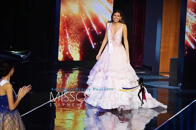 Hoa hậu Stephanie del Valle Díaz được xem là một trong những bất ngờ của đêm chung kết.